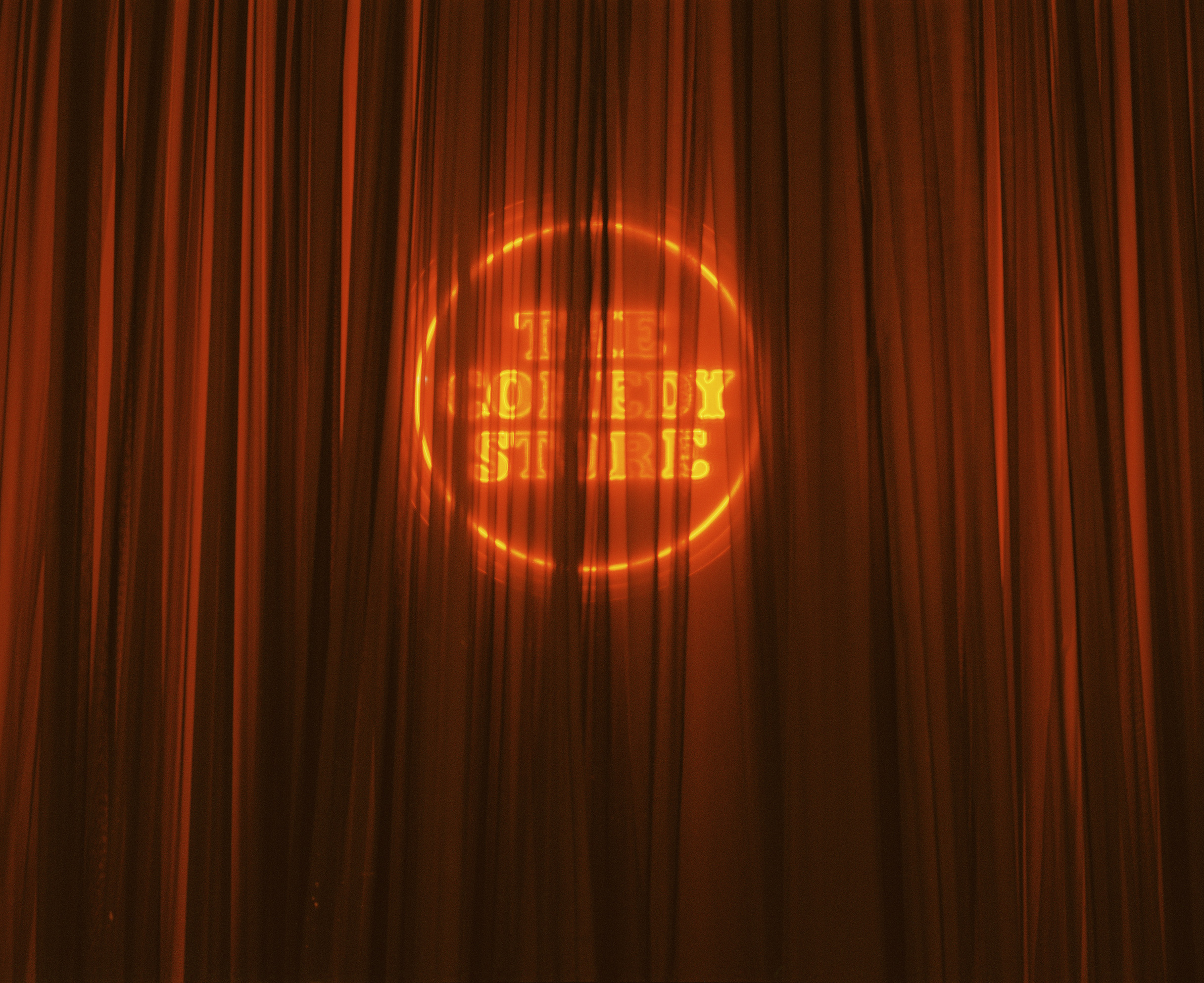 The Comedy Store Behind Curtain